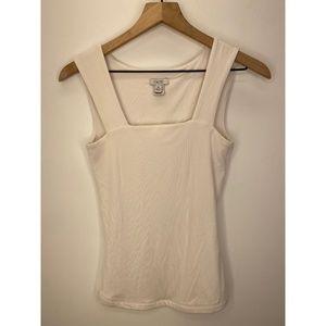 Cache Women's Sleeveless Tank Tops White Size XS